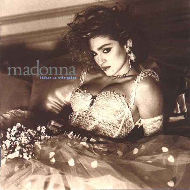 "Madonna  ""Like a virgin"""