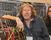 FILE - In this Jan. 23, 2015 file photo, Keith Emerson attends the 2015 National Association of Music Merchants (NAMM) show in Anaheim, Calif. Emerson, the keyboardist and founding member of the 1970s progressive rock group Emerson, Lake and Palmer, died Thursday, March 10, 2016, at home in Santa Monica, Calif. He was 71. (Photo by Paul A. Hebert/Invision/AP, File)